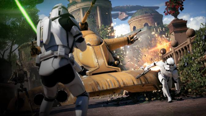 E3 2017: 'Star Wars Battlefront II' Gameplay Shown, Future Content Announced