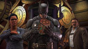 Batman The Enemy Within - Riddler's Puzzle Box Screenshot