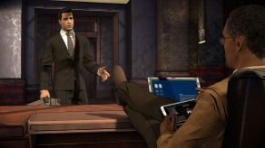 Batman The Enemy Within - Wayne's Office Screenshot