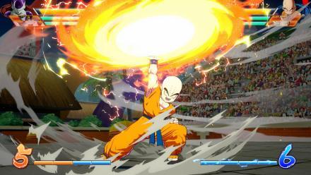 Dragon Ball FighterZ - Krillin Gameplay Screenshot 1