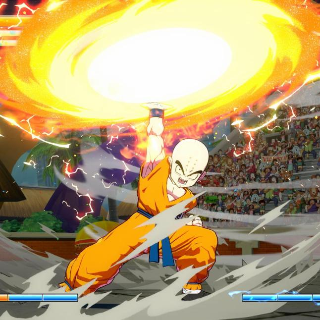 Dragon Ball FighterZ - Krillin Gameplay Screenshot 1