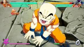 Dragon Ball FighterZ - Krillin Gameplay Screenshot 2