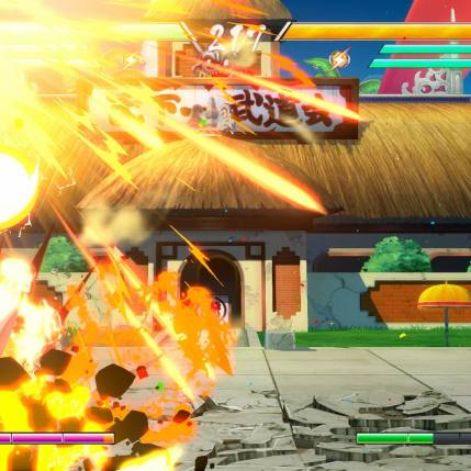 Dragon Ball FighterZ - Krillin Gameplay Screenshot 5