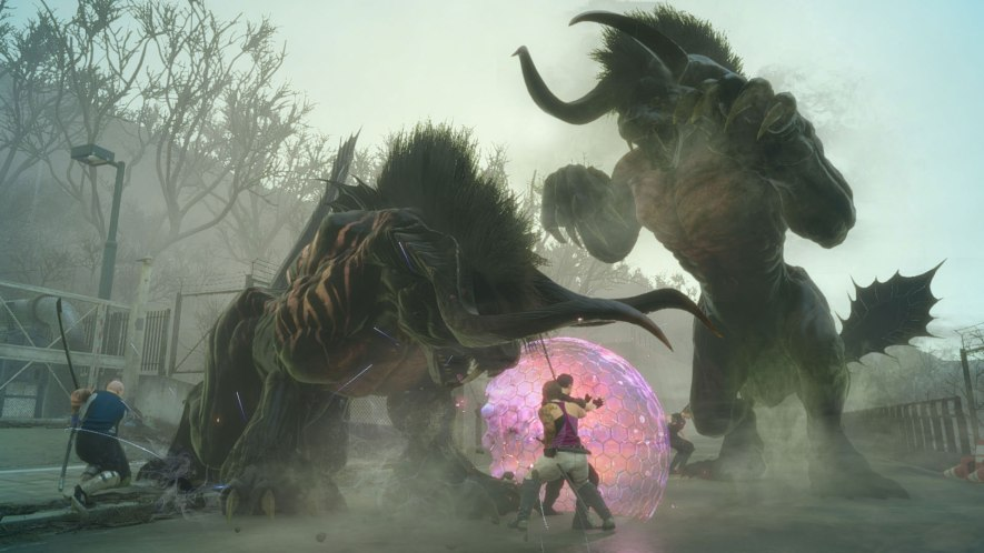 Final Fantasy XV Comrades DLC Beta - Gameplay Screenshot 1