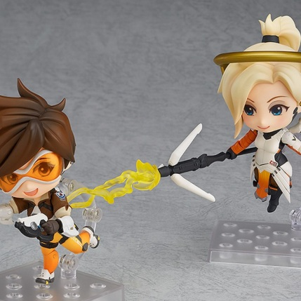 GSC Overwatch Mercy And Tracer Nendoroid Figures - Photo 1