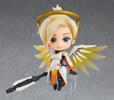 GSC Overwatch Mercy Nendoroid Figure - Photo 1