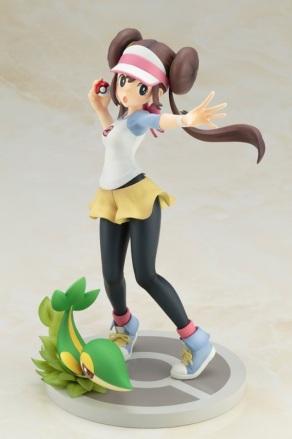 Kotobukiya ARTFX J Series Pokemon Black And White 2 Rosa With Snivy Figure 2
