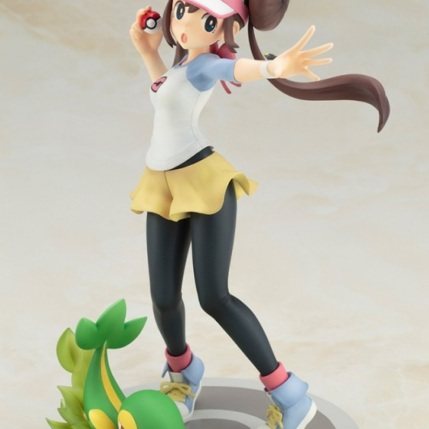 Kotobukiya ARTFX J Series Pokemon Black And White 2 Rosa With Snivy Figure 2
