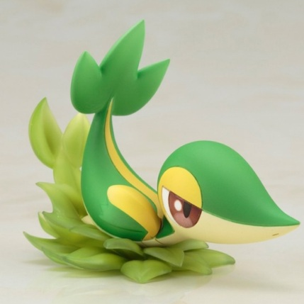 Kotobukiya ARTFX J Series Pokemon Black And White 2 Rosa With Snivy Figure - Snivy Detail 1