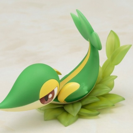 Kotobukiya ARTFX J Series Pokemon Black And White 2 Rosa With Snivy Figure - Snivy Detail 4
