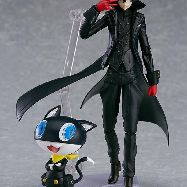 Persona 5 Joker + Morgana Figma Figure - Photo 1