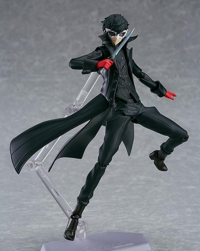 Persona 5 Joker + Morgana Figma Figure - Photo 2