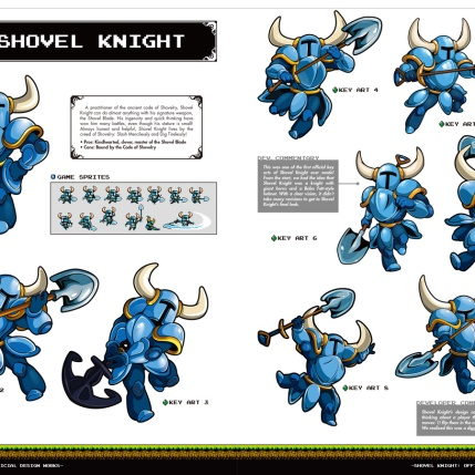 Shovel Knight Official Design Works - Preview Image 1