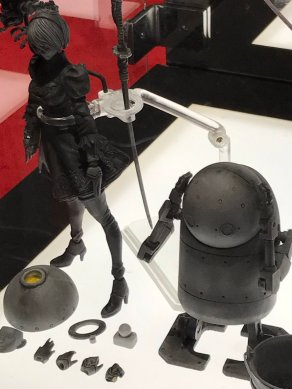 Square Enix Bring Arts 2B and Machine Lifeform Prototype Figures - SDCC 2017