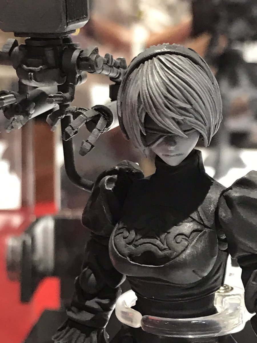 Square Enix Bring Arts 2B Prototype Figure Close-Up - SDCC 2017
