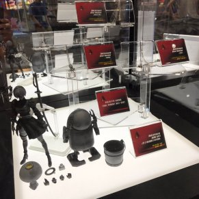 Square Enix NieR Automata Prototype Collectibles - SDCC 2017