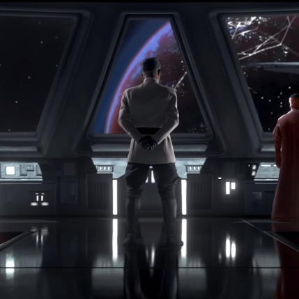 Star Wars Battlefront II D23 Expo - Admiral Versio Cinematic Screenshot
