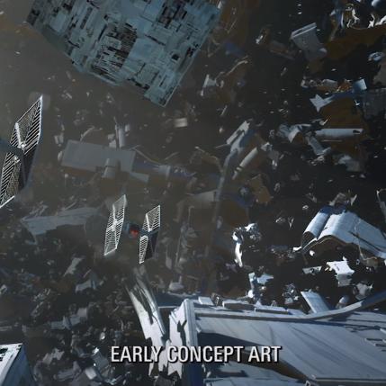 Star Wars Battlefront II D23 Expo - Concept Art 2