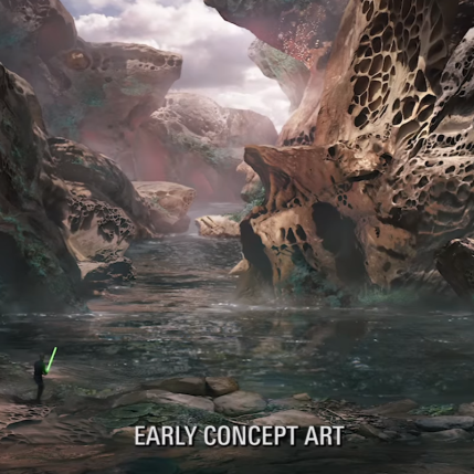 Star Wars Battlefront II D23 Expo - Concept Art 3