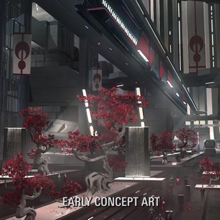 Star Wars Battlefront II D23 Expo - Vardos Concept Art 2