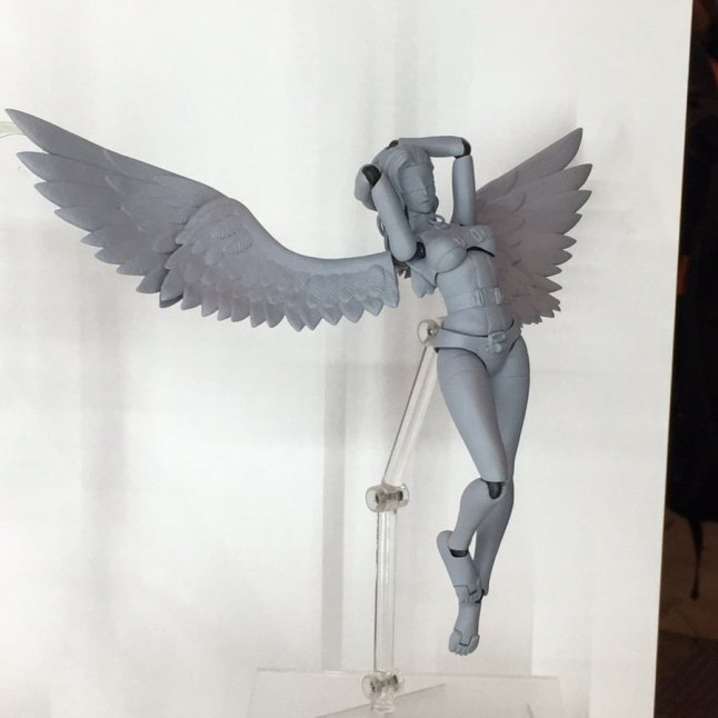 Summer Wonder Festival 2017 - GSC FREEing Shin Megami Tensei Angel Figma Figure - Prototype