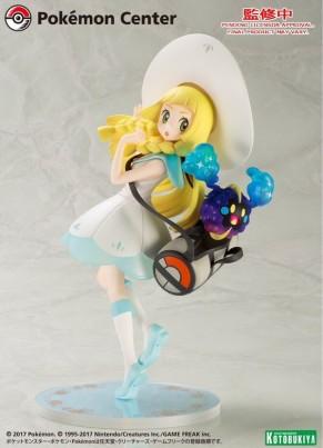 Summer Wonder Festival 2017 - Kotobukiya Pokemon Trainer Lillie Statue