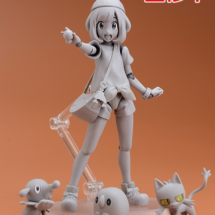 Summer Wonder Festival 2017 - Kotobukiya Pokemon Trainer Moon Figure - Prototype
