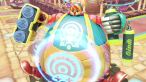 ARMS Version 3 Gamescom 2017 Trailer - Lola Pop Inflate Technique