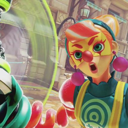 ARMS Version 3 Gamescom 2017 Trailer - Lola Pop