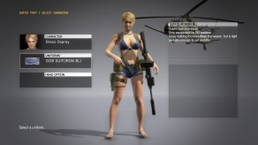 MGSV The Phantom Pain - Goblin Suit DLC - Female - Screenshot 1