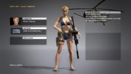 MGSV The Phantom Pain - Goblin Suit DLC - Female - Screenshot 1