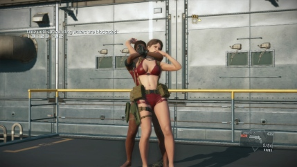MGSV The Phantom Pain - Goblin Suit DLC - Female - Screenshot 2