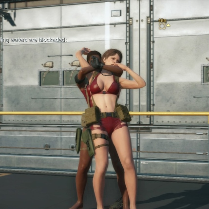 MGSV The Phantom Pain - Goblin Suit DLC - Female - Screenshot 2
