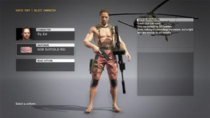 MGSV The Phantom Pain - Goblin Suit DLC - Male - Screenshot 1