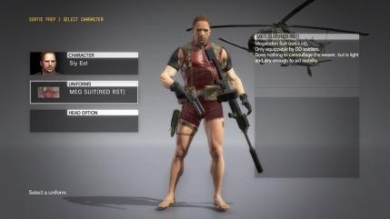 MGSV The Phantom Pain - Megalodon Suit DLC - Male - Screenshot 1