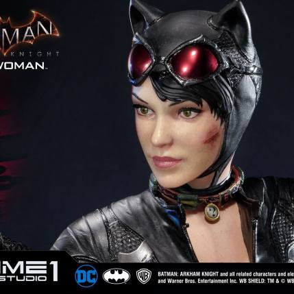 Prime 1 Studio Arkham Knight Catwoman Statue - Prototype Head 2 - Photo 2