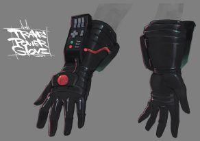 Travis Strikes Again Concept Art - Travis Power Glove Variant