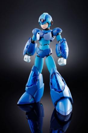 Chogokin Mega Man X Giga Armor X Figure - Photo 1