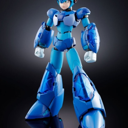 Chogokin Mega Man X Giga Armor X Figure - Photo 1