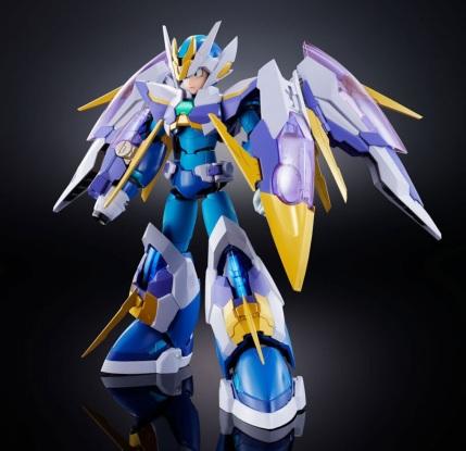 Chogokin Mega Man X Giga Armor X Figure - Photo 2
