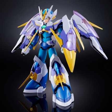 Chogokin Mega Man X Giga Armor X Figure - Photo 2