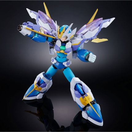 Chogokin Mega Man X Giga Armor X Figure - Photo 3