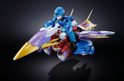 Chogokin Mega Man X Giga Armor X Figure - Photo 9