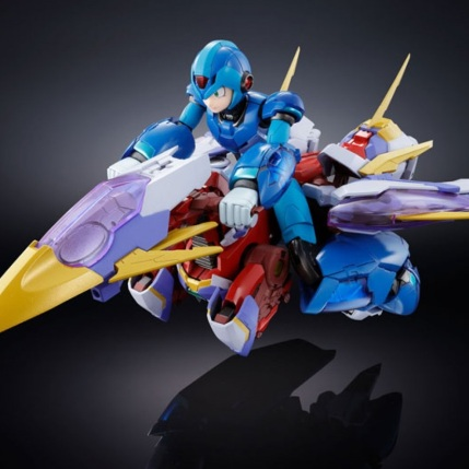 Chogokin Mega Man X Giga Armor X Figure - Photo 9