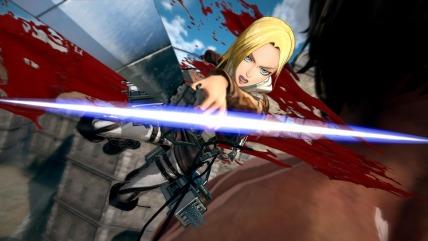 Attack on Titan 2 - Annie Leonhart Gameplay Screenshot