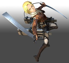 Attack on Titan 2 - Annie Leonhart Official Keyart