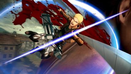 Attack on Titan 2 - Reiner Braun Gameplay Screenshot