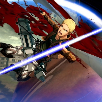 Attack on Titan 2 - Reiner Braun Gameplay Screenshot