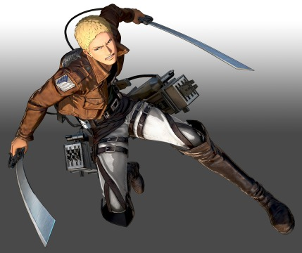 Attack on Titan 2 - Reiner Braun Official Keyart