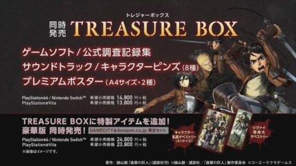 Attack on Titan 2 - Treasure Box Limited Edition
